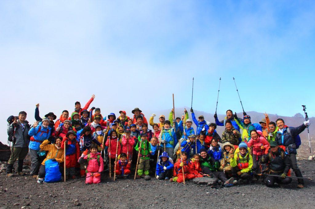 1-3.富士山登山2016