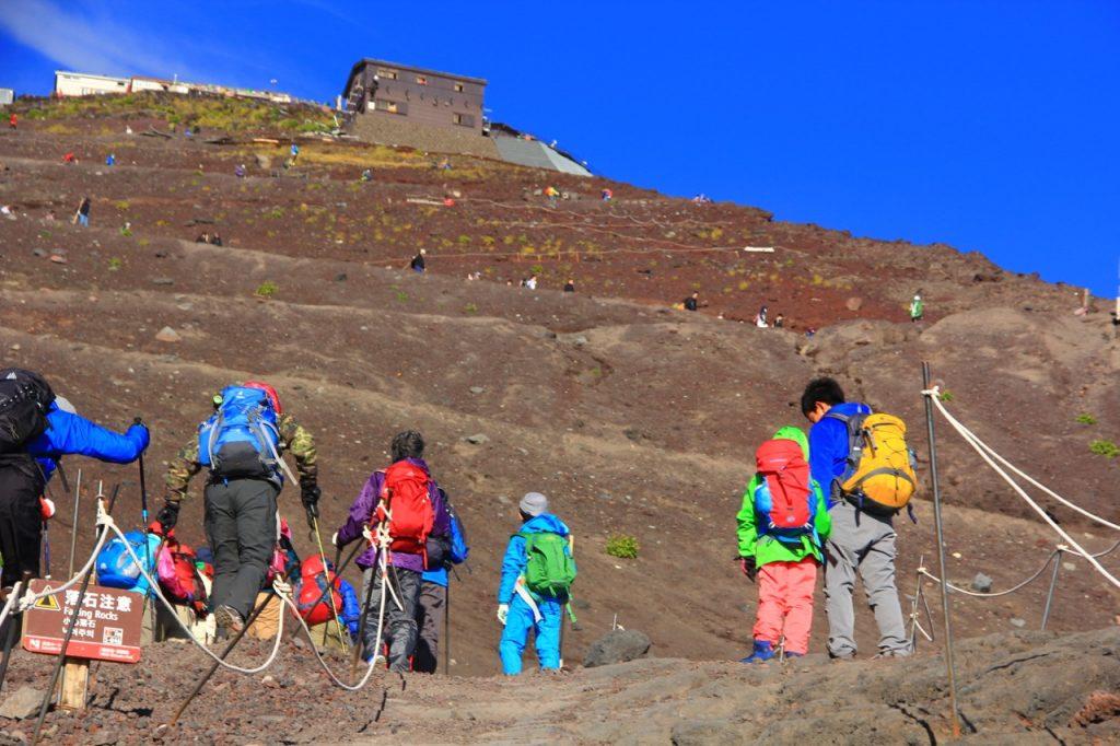1-2.富士山登山2016